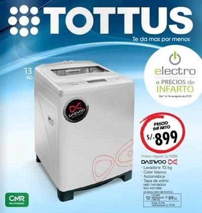 tottus catalogo electro agosto 2015