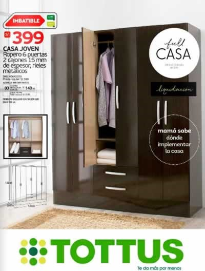Tottus ofertas full casa del 6 al 15 de julio de 2015 for Muebles peru catalogo