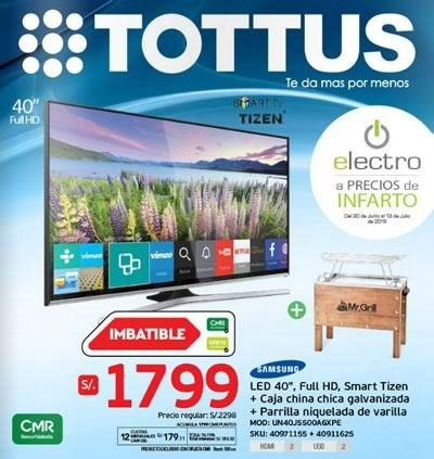 tottus catalogo ofertas electro vence 13 de julio de 2015