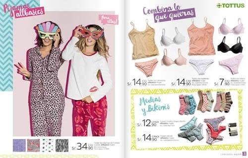 tottus catalogo ofertas lenceria ropa interior abril 2015 02