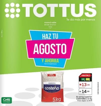 tottus catalogo ofertas supermercado agosto 2015
