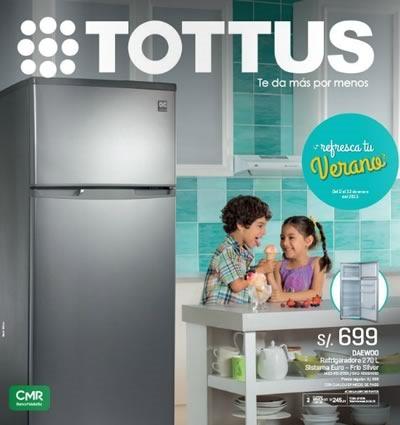 tottus catalogo ofertas verano enero 2015 peru