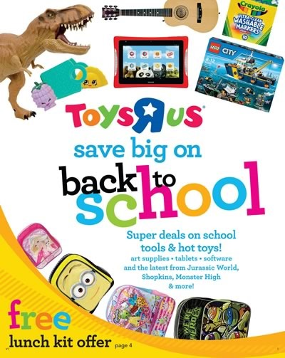 toys r us catalogo back to school 2015 estados unidos