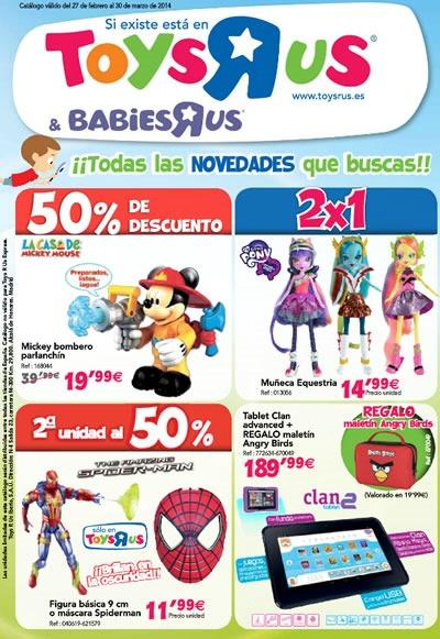 toys r us catalogo marzo 2014