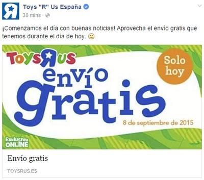 toys r us envio gratis hoy 8 de septiembre de 2015