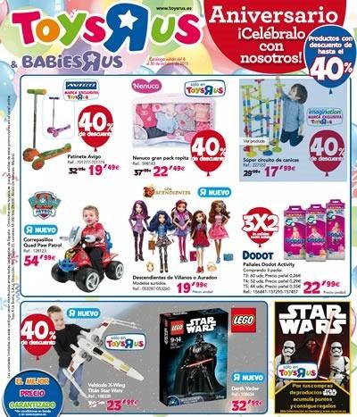 toys r us ofertas juguetes octubre 2015