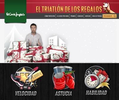 triatlon de los regalos el corte ingles 2013