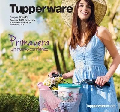 ca987d4e29 Ofertas del Catálogo Virtual Tupperware Tupper Tips 3 de Febrero-Marzo 2018