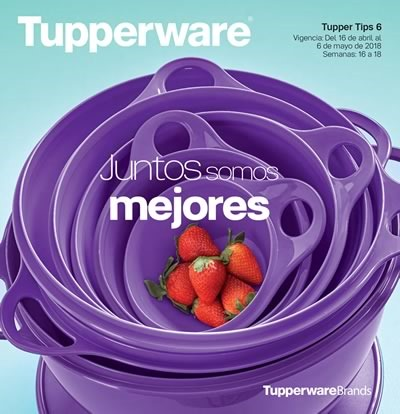 tupperware tupper tips 6 de 2018 de mexico