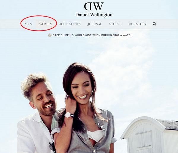 tutorial comprar relojes tienda online daniel wellington - 01
