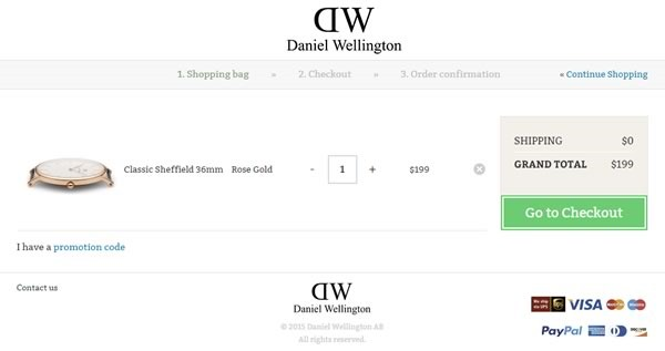 tutorial comprar relojes tienda online daniel wellington - 04