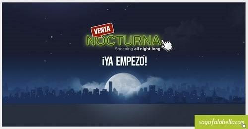 venta noctura saga falabella 19 agosto 2014 peru