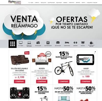 venta relampago ripley jueves 16 abril 2015