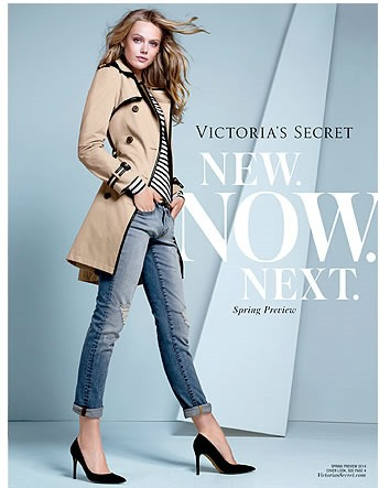 victoria secret catalogo avance primavera 2014 usa