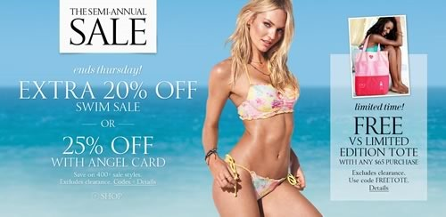 victoria secret semi annual sale junio 2014