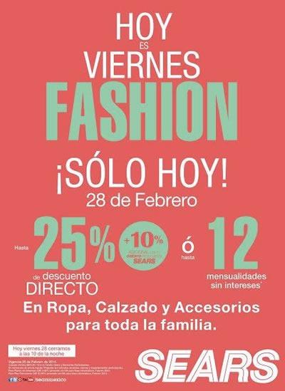 viernes fashion sears 28 febrero 2014