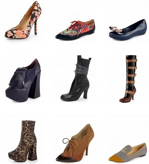 vivienne westwood catalogo zapatos botas tacones