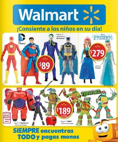 walmart catalogo dia del nino 2015 ofertas juguetes mexico