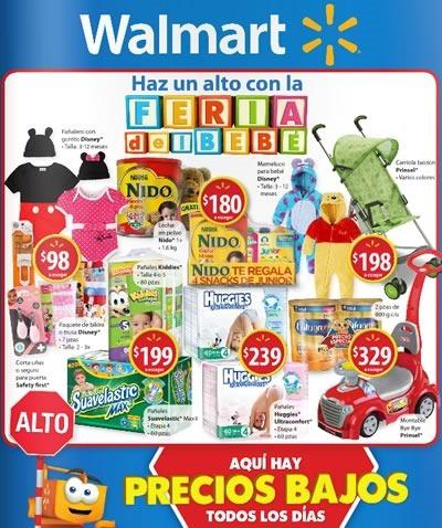 walmart catalogo feria del bebe septiembre 2015