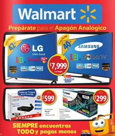 walmart catalogo ofertas mayo 2015 mexico