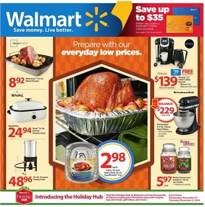 walmart catalogo thanksgiving 2014 usa
