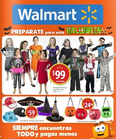 walmart mexico catalogo halloween 2015