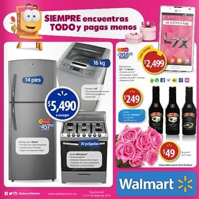 walmart mexico catalogo ofertas 11 mayo 2014
