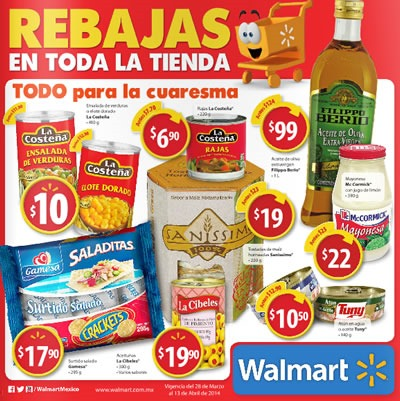 walmart mexico catalogo ofertas abril 2014
