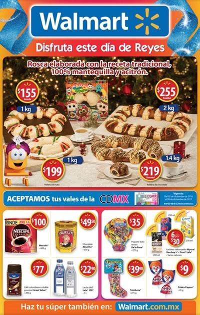 walmart oferta rosca de reyes 2017 juguetes