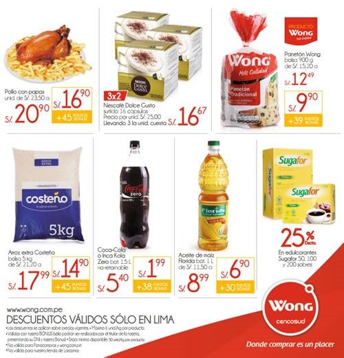 wong ofertas dias w noviembre 2013