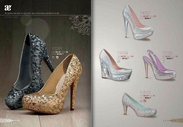 zapatos de fiesta catalogo andrea 2